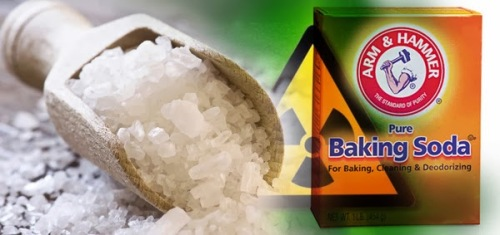 baking soda radiation exposure cancer sea salt