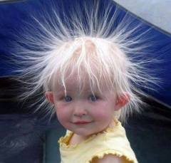 electric energy child hair poweder